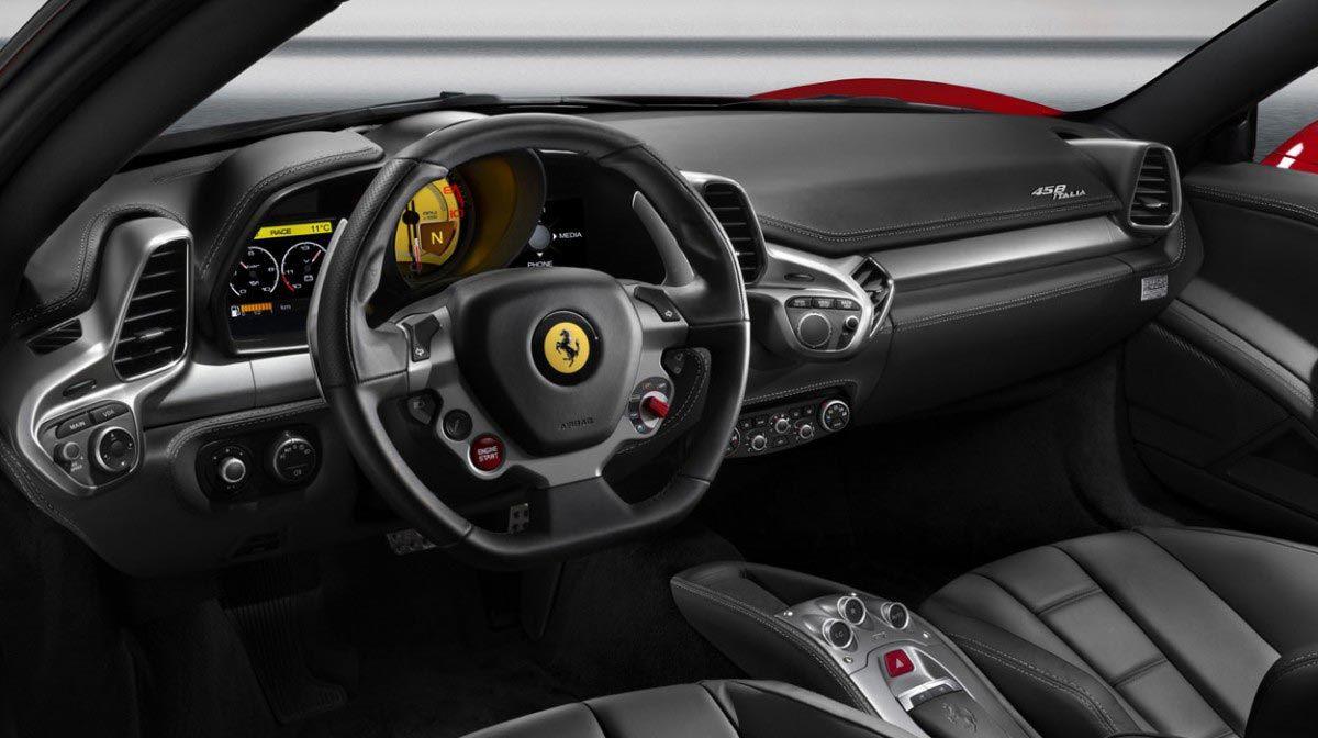 2017 Ferrari 458 Italia Interior