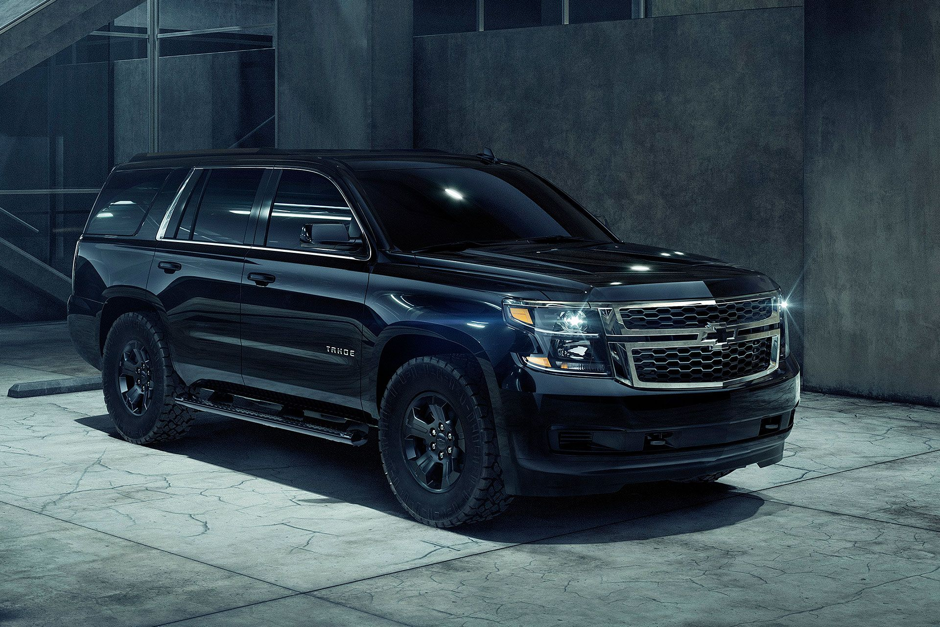 2018 Chevrolet Tahoe Custom Midnight Edition Chevrolet Tahoe