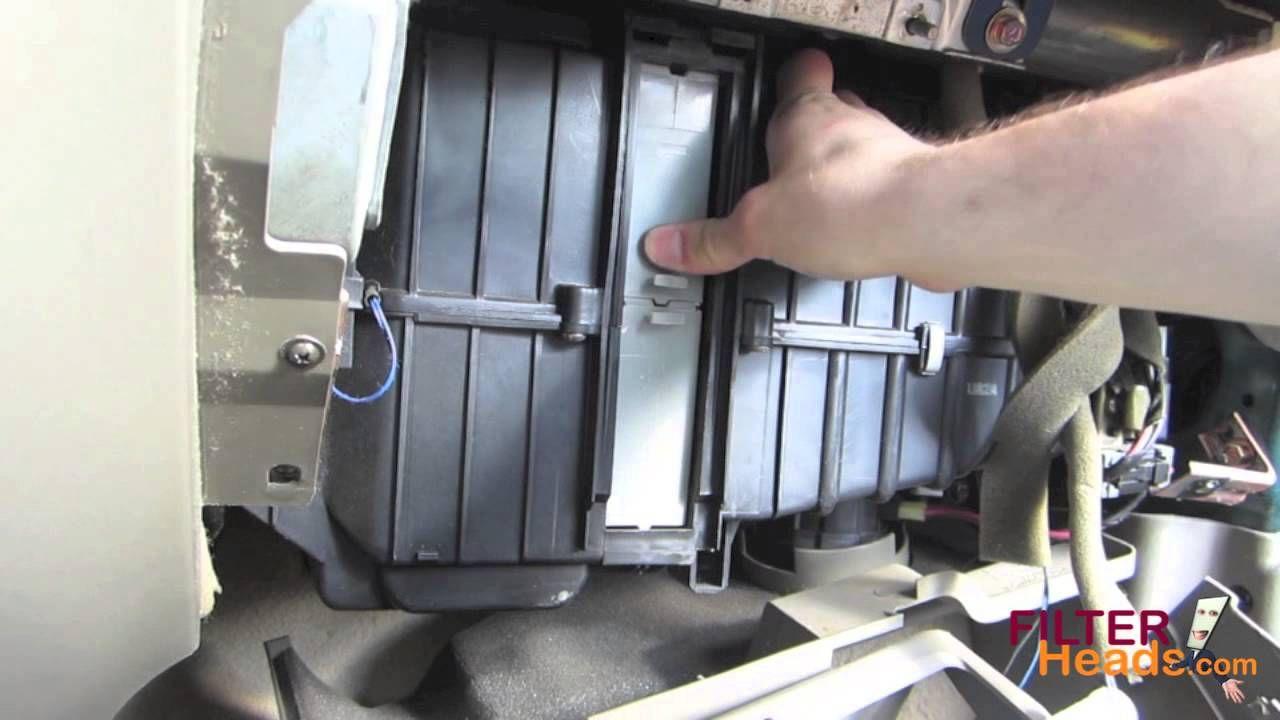 cabin air filter replacement hyundai santa fe [ 1280 x 720 Pixel ]