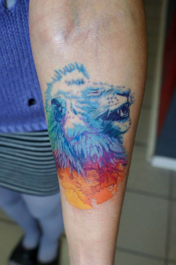 1874ae97c 25 awesome lion tattoo designs for men and women | TattooArt ...