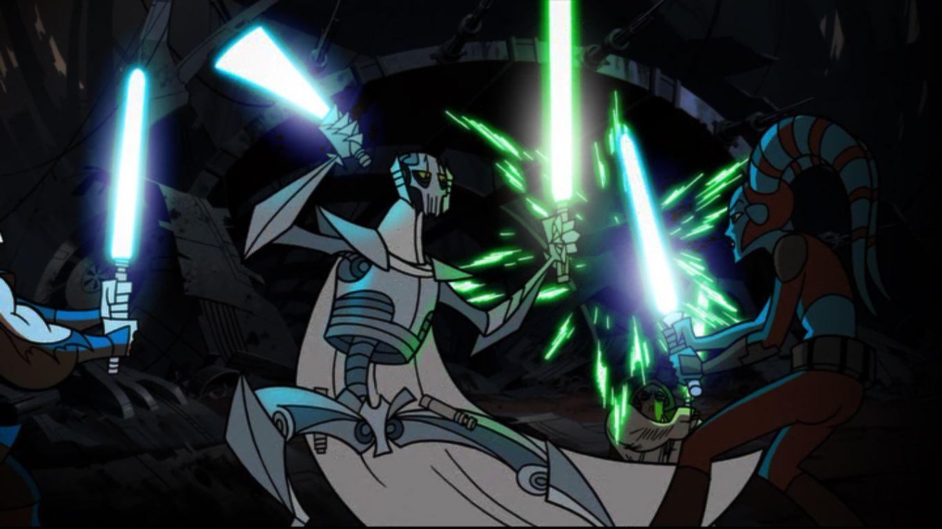 General Grievous Fresh New Hd Wallpaper Star Wars Jedi