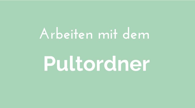Nutzen Sie Pultordner und Wiedervorlagemappen? Richtig eingesetzt sind das wichtige Ordnungshelfer. Aber es lauern auch Fallen auf Sie