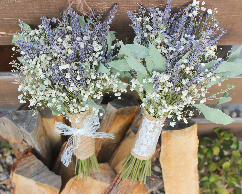 Bridal bouquet lavender bridal bouquet purple blue