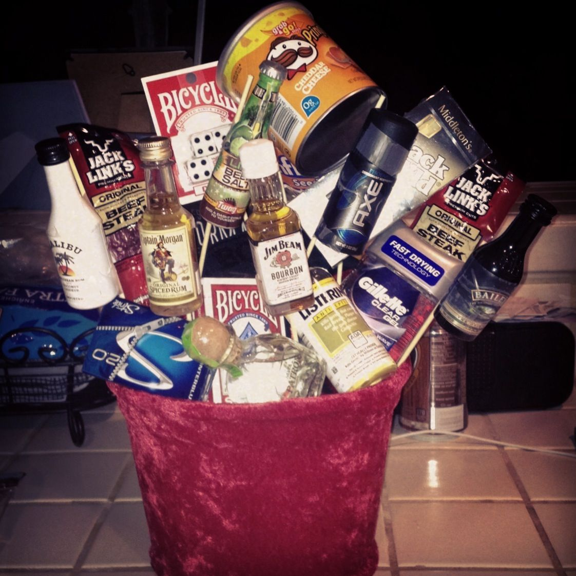 """Man's Basket"" made by yours truly!"