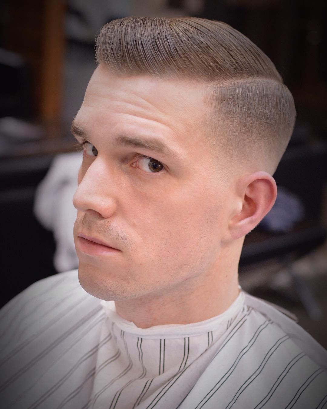 Men classic haircut
