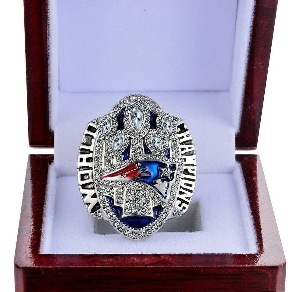 2017 New England Patriots Football Tom Brady Championship