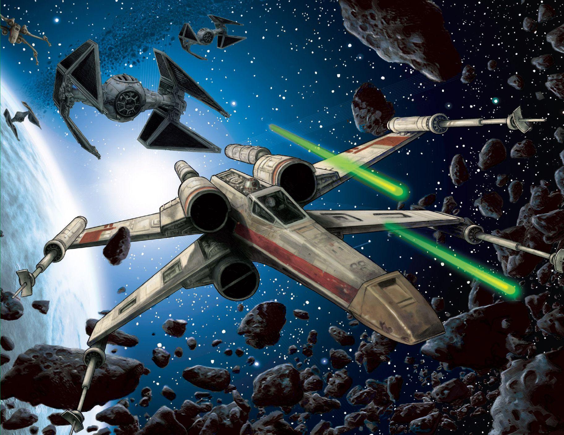 X-Wing Rogue Squadron Vol 01 Art by Doug Wheatley   Star