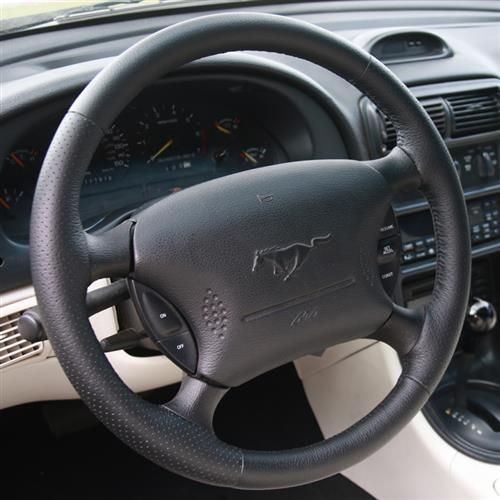 Sve Mustang Fr500 Style Steering Wheel Black 94 04 Steering Wheel Mustang Mustang Interior