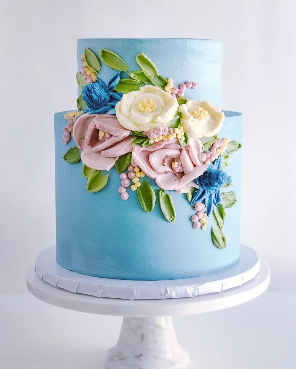 216 Likes 1 Comments Sugar Inspired Trends Sugar Inspired Trends On Instagram Bu Mmmdessert In 2020 Wilton Cake Decorating Cake Wilton Cakes