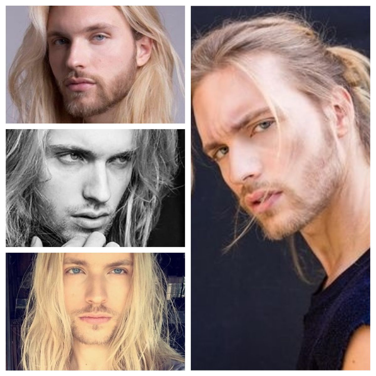 Alessandro Pierozan Brazil Model Alessandropierozan Long Hair Styles Men Nordic Blonde Blonde Guys