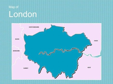 A great powerpoint template showing an editable map of london a great powerpoint template showing an editable map of london england and the uk flag toneelgroepblik Choice Image