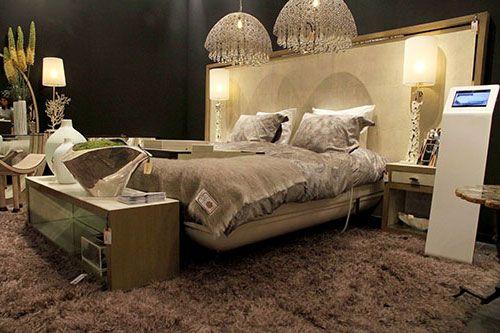Designbed met hoofdbord cravt stingray slaapkamer pinterest