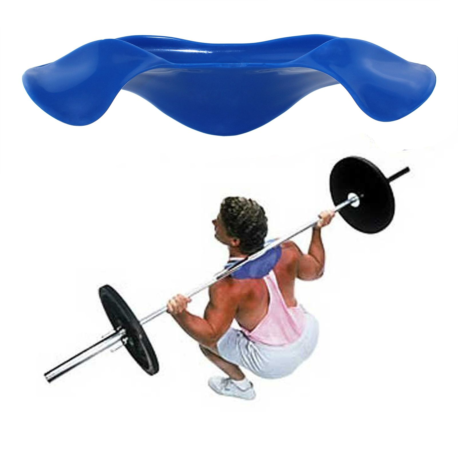 Barbell Pad Supports Bar Lifting Pull Up Gripper Shoulder Protective Pad Great