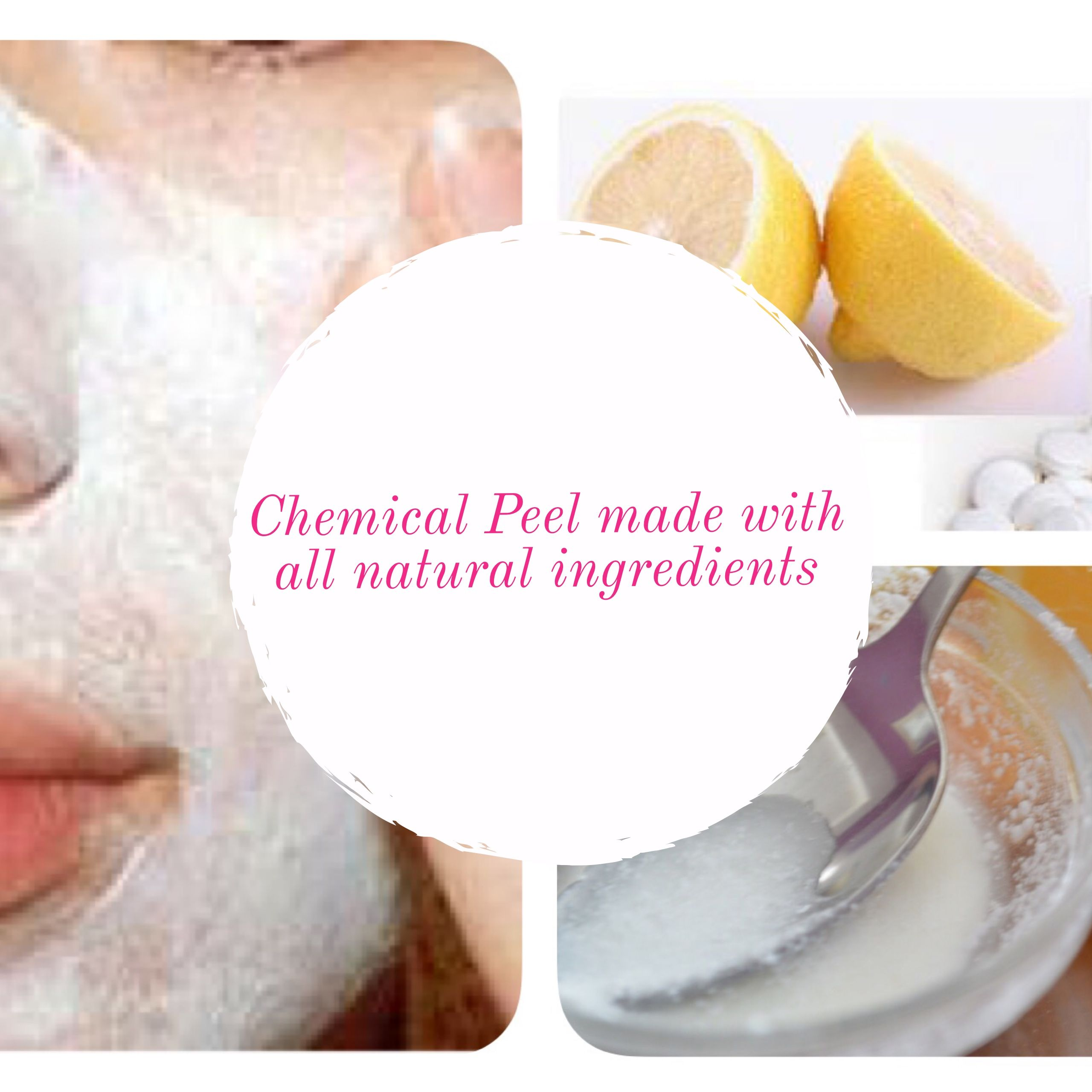 1. Mash up 6-12 non-coated aspirins and combine with freshly squeezed lemon juice. 2. Let the aspirin dissolve until it turns into a paste. 3. Apply the mask to your skin and leave it on for 10 minutes. 4. Remove the face mask by dipping a cotton round in some baking soda and some water.