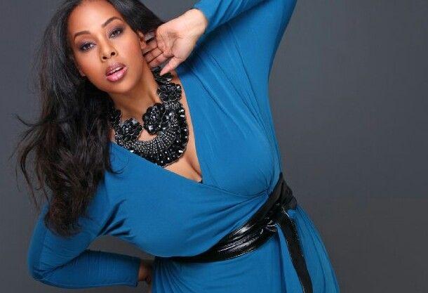 #plus size  #thick  #bbw  #model  #blue  #fashion