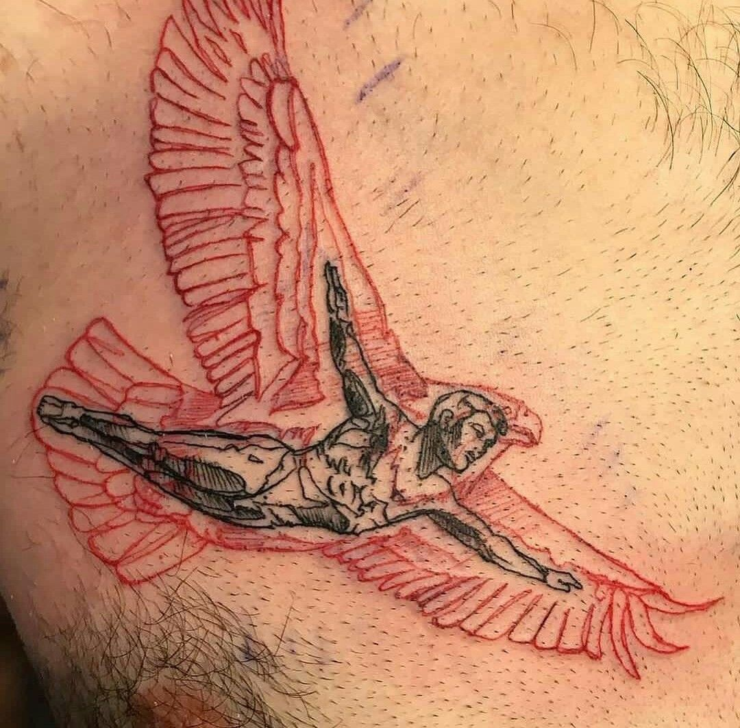 How to Get Rid of a Bad Tattoo Tattoos for women, Icarus