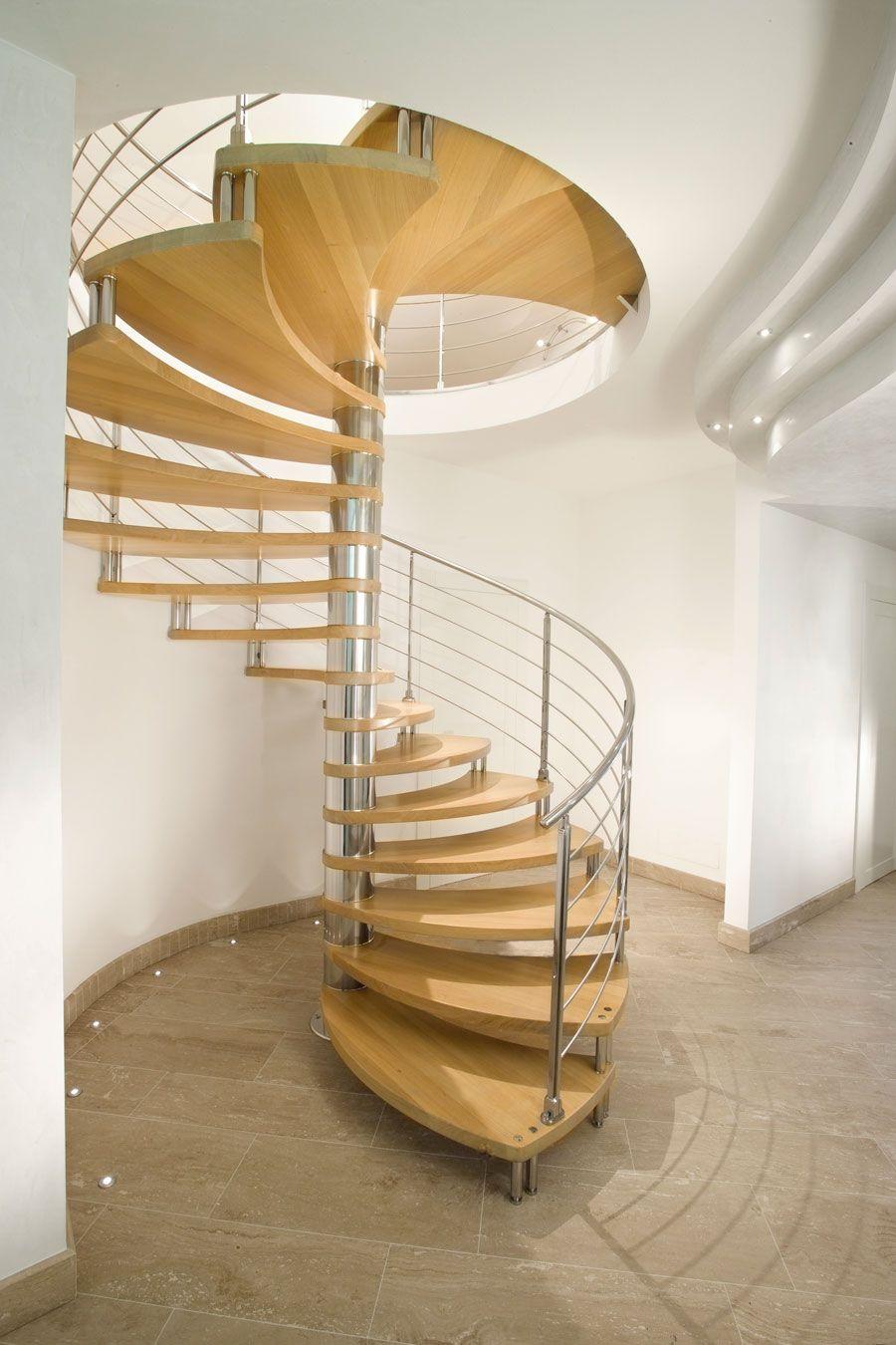 escaleras de diseo escaleras para interior de la firma italiana marretti escaleras de caracol