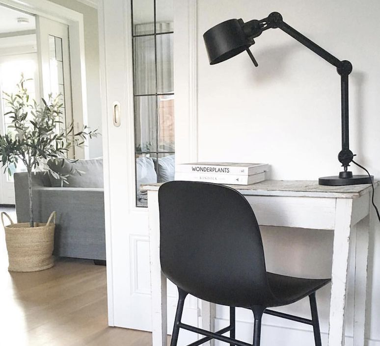 Lampe A Poser Bolt Noir 0l57cm H29cm Tonone Lampe A Poser Lampe A Poser Design Lampe