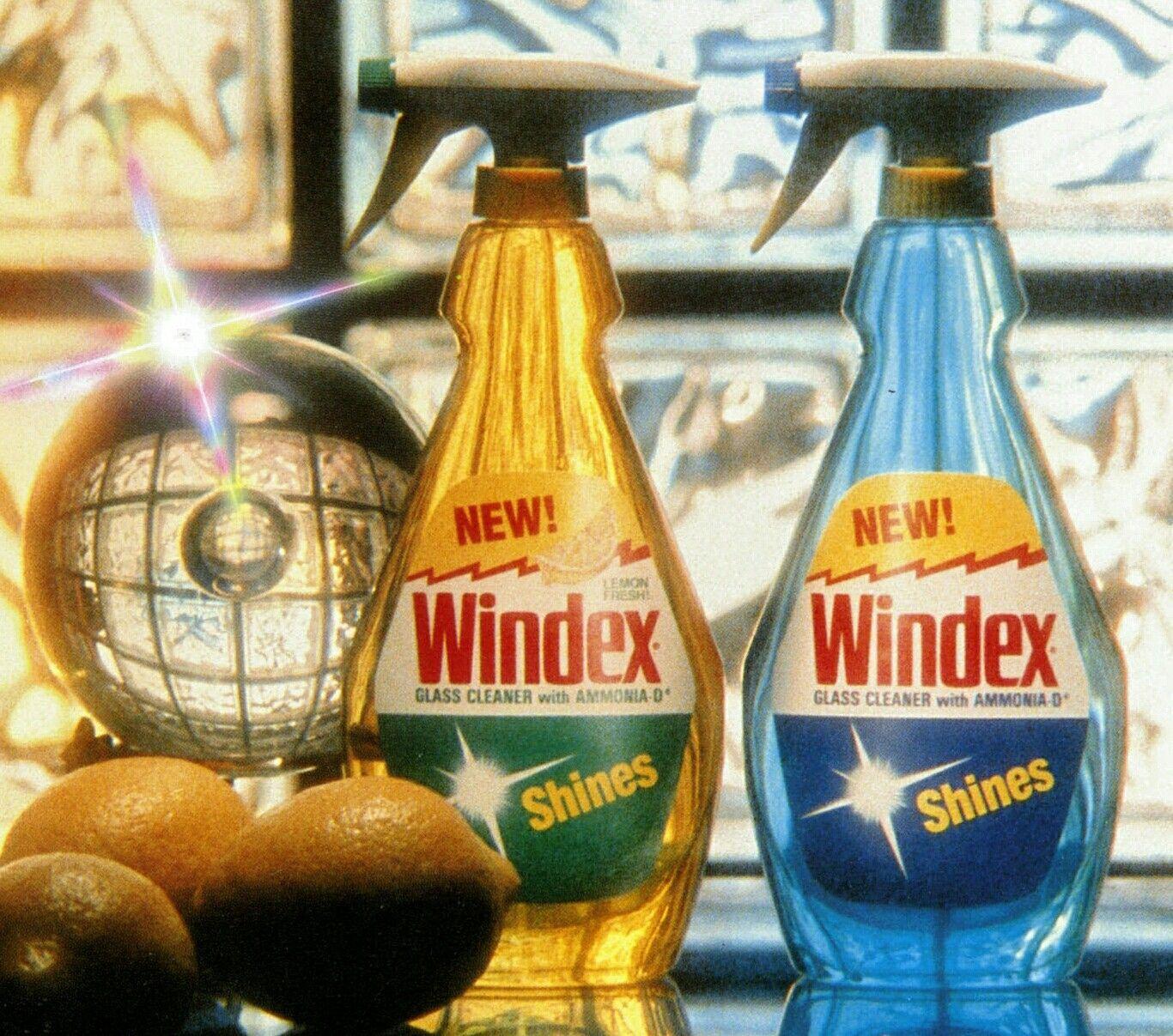 Windex Glass Cleaner Original And Lemon Scented Spray Limpieza