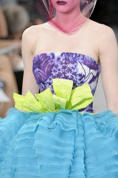 Christian Dior - Haute Couture - Fall 2010 Collection #runwaydetails