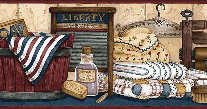 1679 Wallpaper Books Wallpaper Border Laundry Room Wallpaper Laundry Room