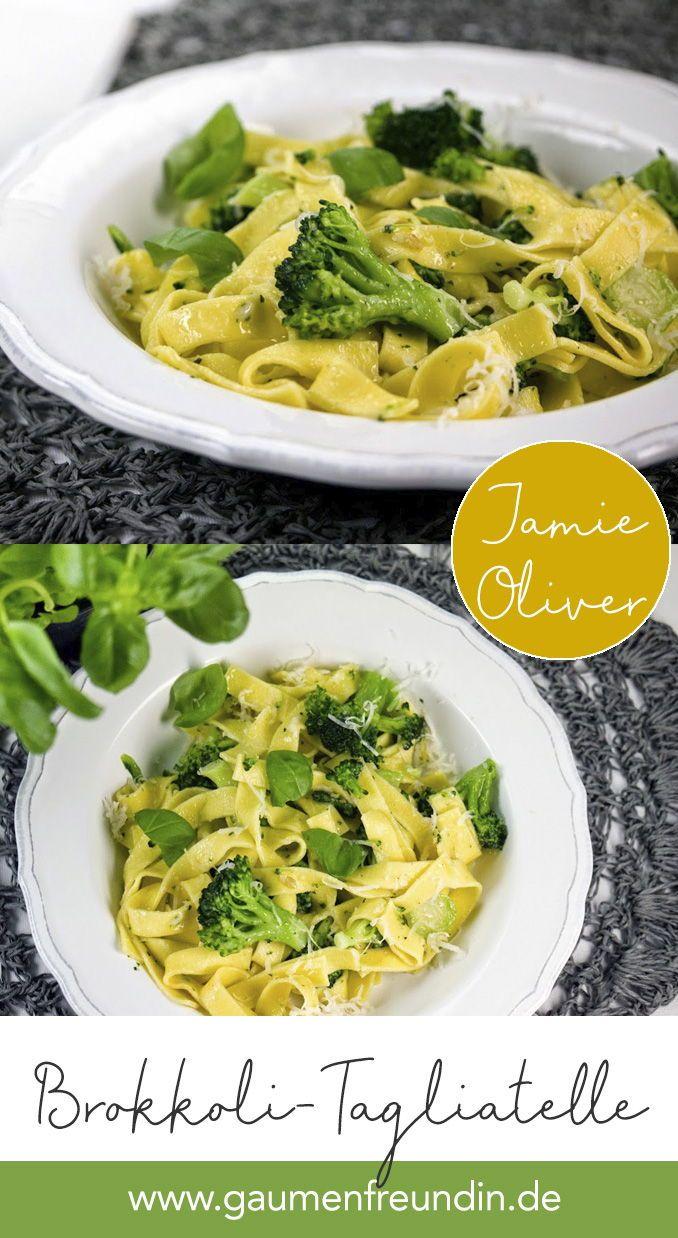 Photo of Jamie Olivers Tagliatelle mit Brokkoli und Pesto