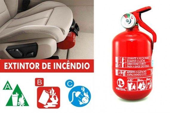 Obrigatoriedade do Extintor ABC Veicular e Preço