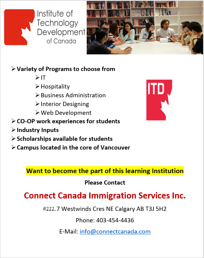 Connect Canada Immigration Services Inc. Business