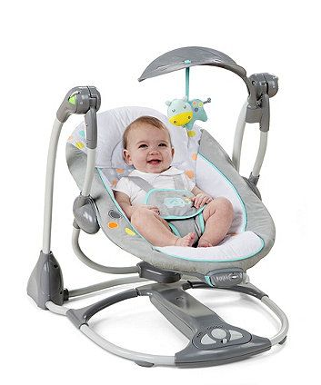 Bright Starts Ingenuity Avondale 2 In 1 Swing Portable