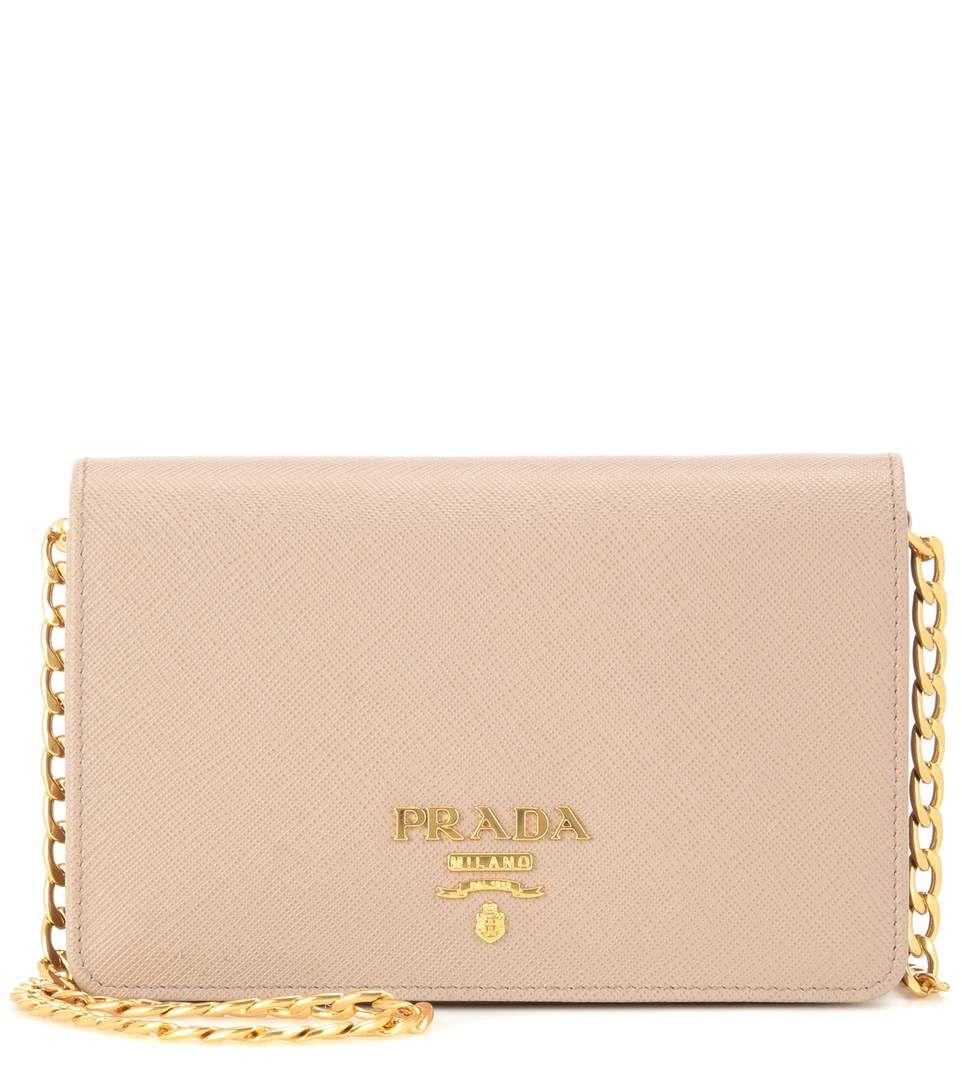 99771a9ba645 PRADA Galleria Saffiano Lux Small Shoulder Bag.  prada  bags  shoulder bags   leather  lining