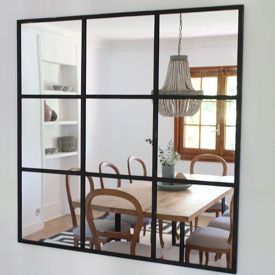 Climb espejo elementos deco decorative touch espejos for Espejos horizontales para salon