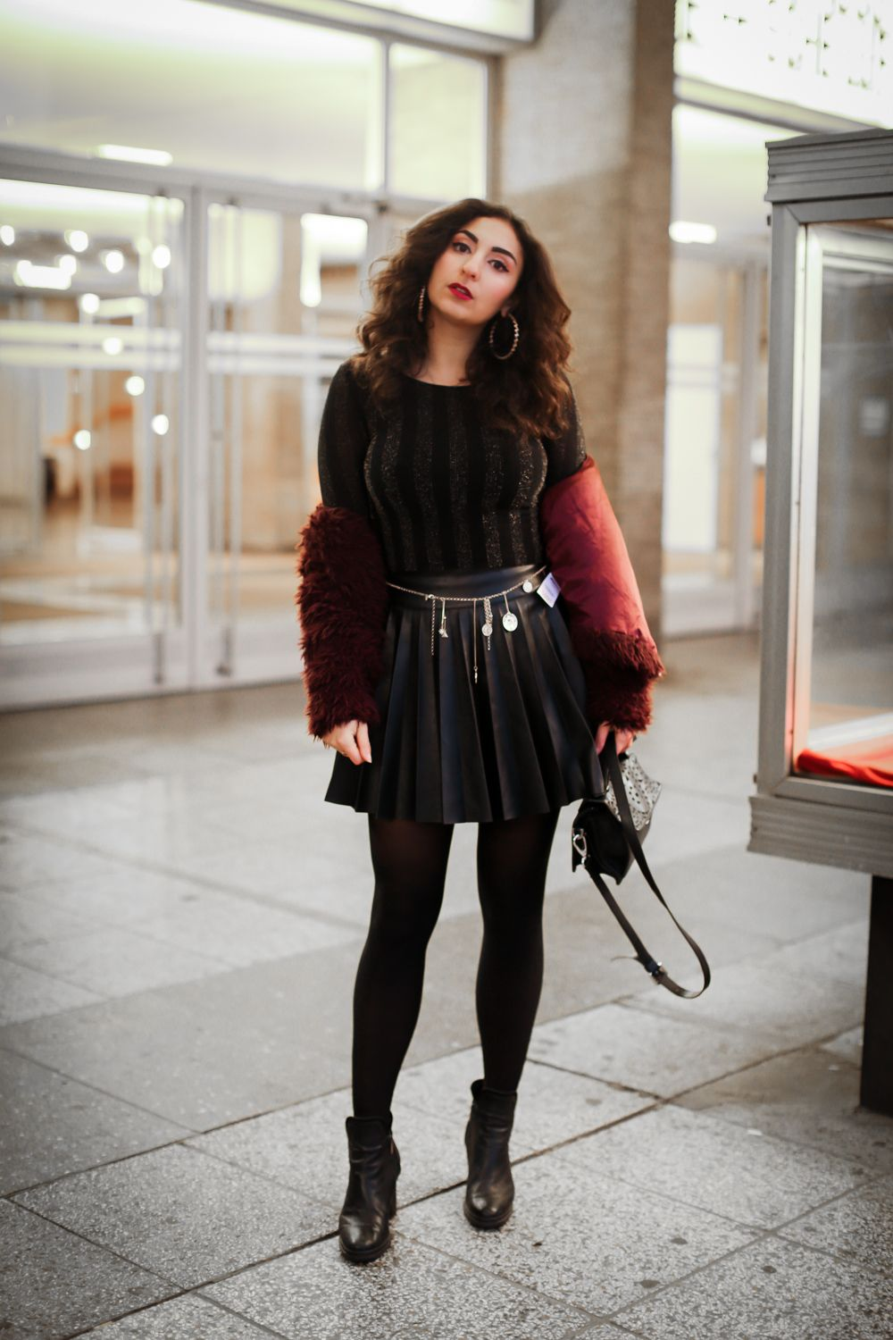 new years eve outfit - fashionblog berlin | schwarzes kleid