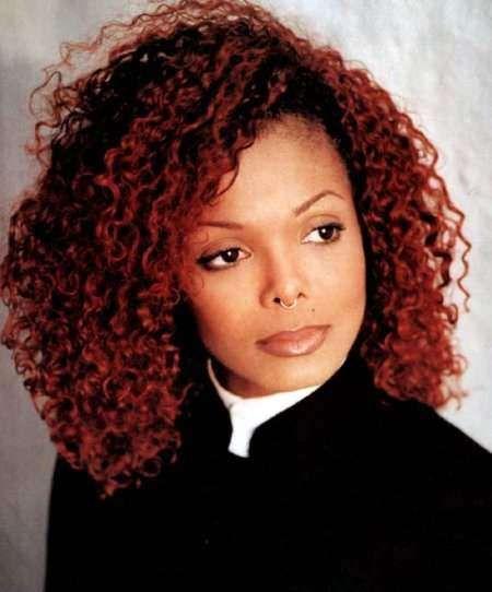 janet jackson red hair - Google Search | black hairstylez