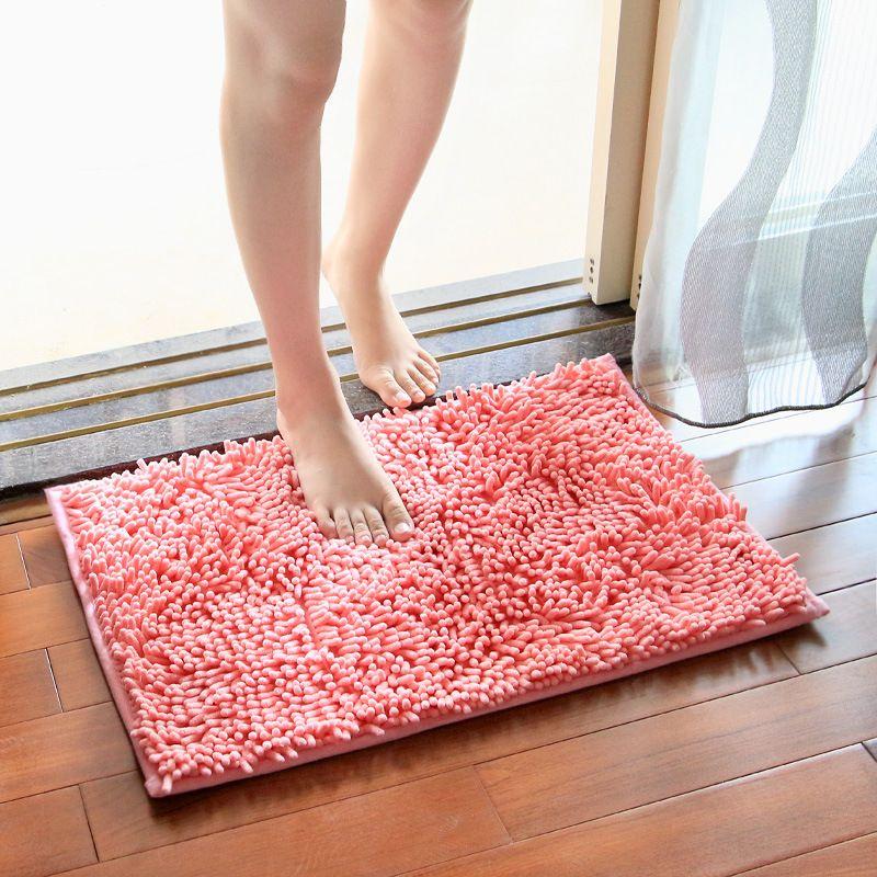 3 maten badmat badkamer tapijt badkamer mat voor wc badkamer rug wc mat bad rug anti uitglijden absorberende zachte chenille