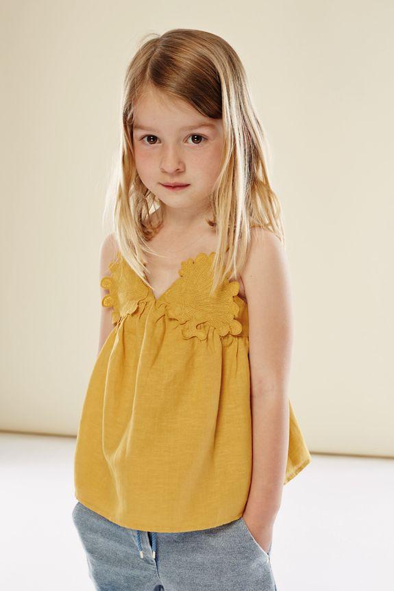 b091ad6c5ca87 Chloé colección de moda para niñas SS16