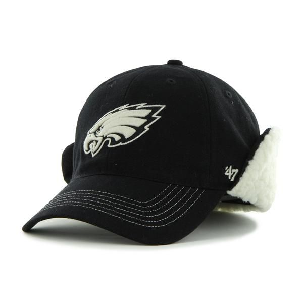 2131cdb8478 Philadelphia Eagles Boone Black 47 Brand