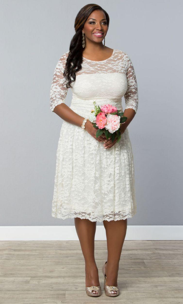 aedabf9274 Plus Size Wedding Dresses Aurora Lace Wedding Dress Women s Plus Size  Clothing
