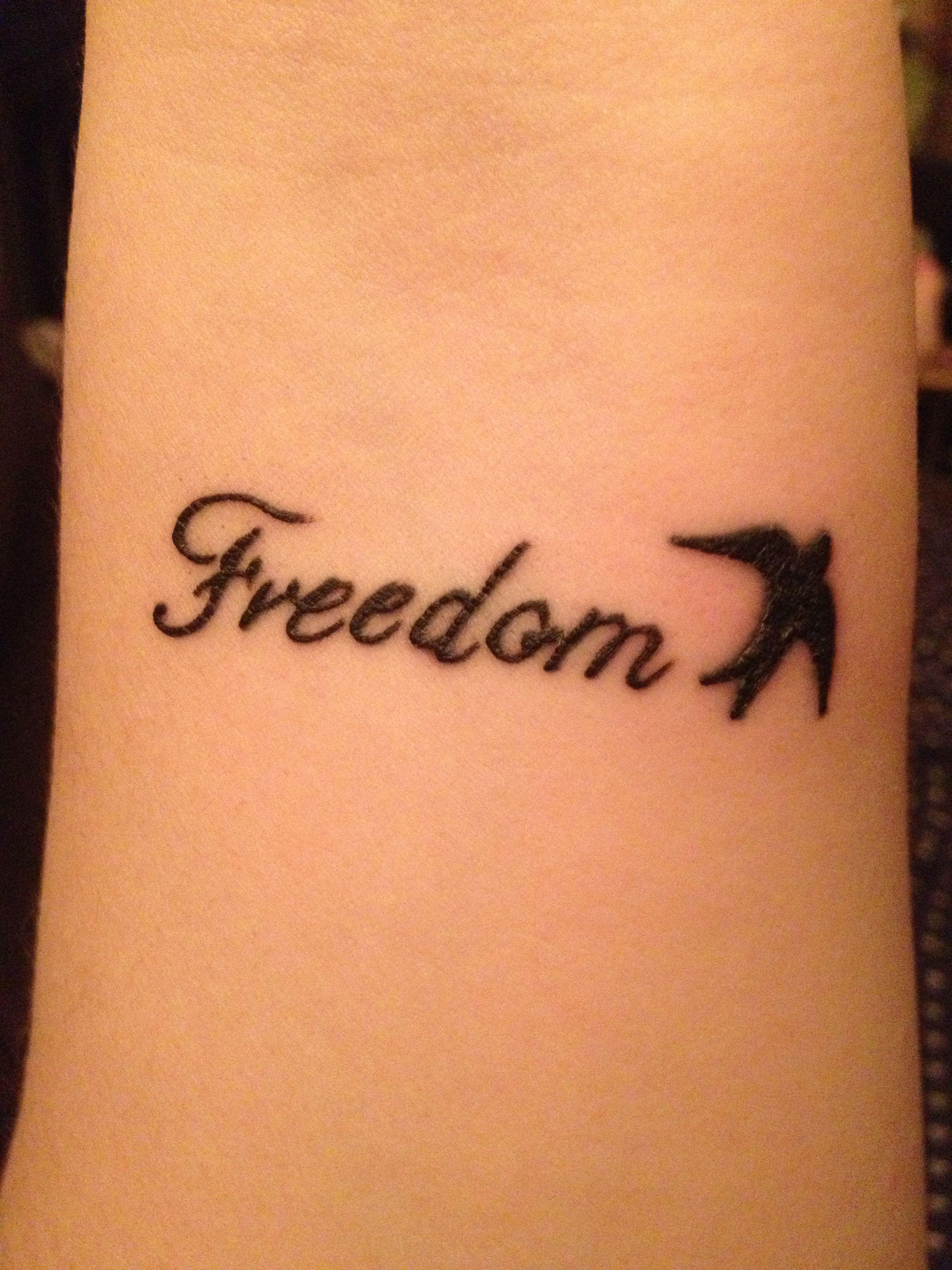 freedom tattoo design images for tatouage. Black Bedroom Furniture Sets. Home Design Ideas