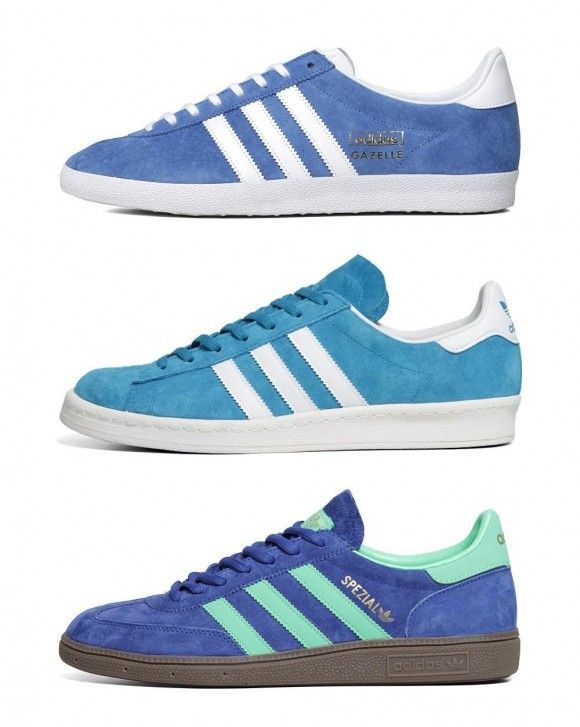 Adidas Originals Blue Sneakers