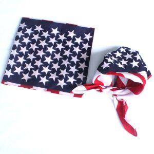 Promotional Cotton Printed Flag Square Headband Bandana On Made In China Com Usa Headbands American Flag Bandana Flag Bandana
