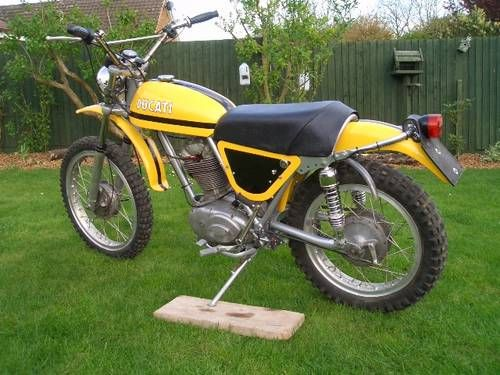 ducati rt 450 desmo moto-cross scrambler for sale (1972) | ducati