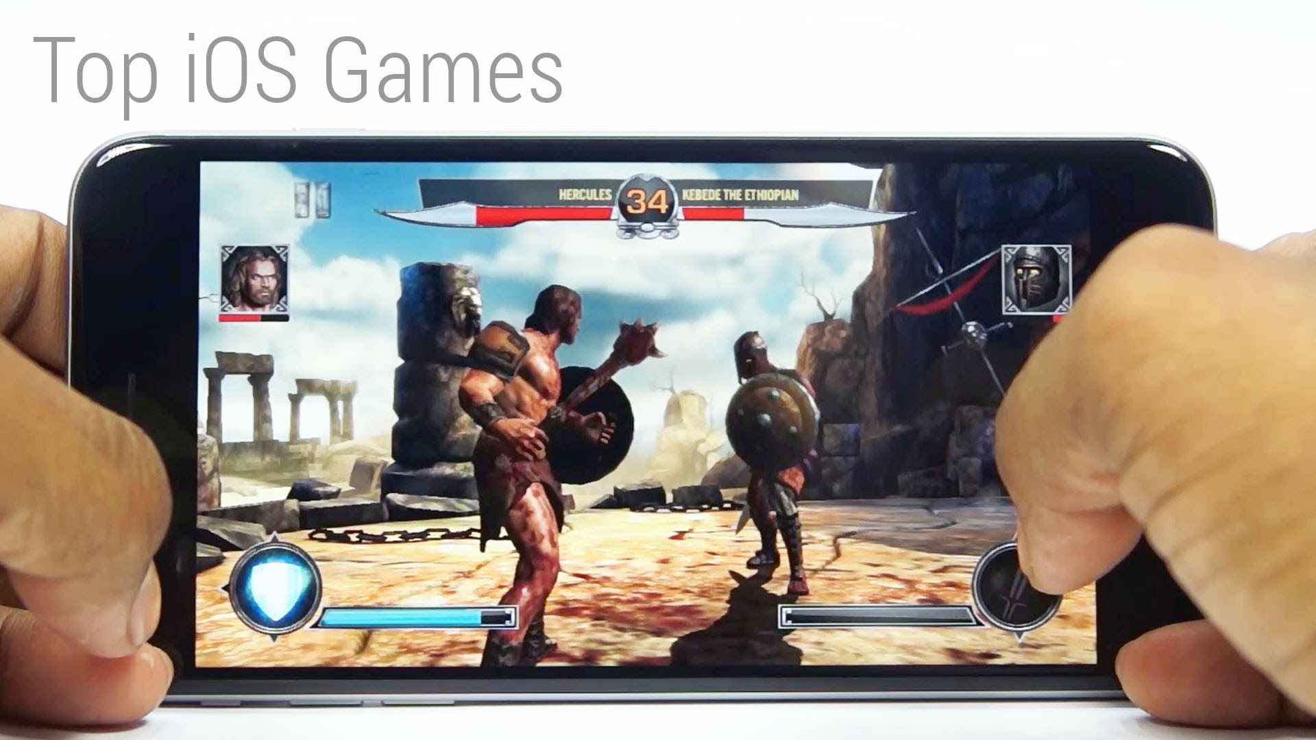Top 10 HD Games (Free) for your iPhone 6 Plus - Games4iOS #3 | Apple