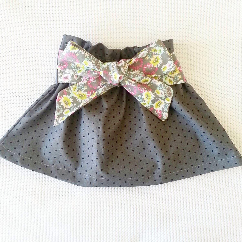Big baby bow skirt Norah Baby girl clothes baby girl skirt