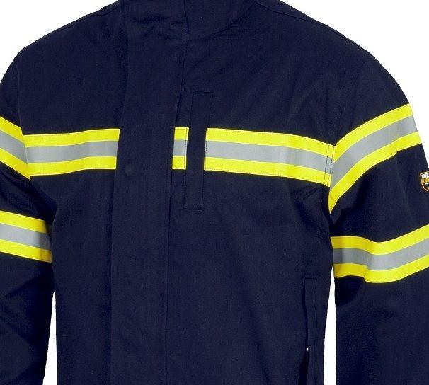 colores delicados estilo de moda Garantía de calidad 100% Cazadora ignifuga y antiestatica. bandas reflectantes, Ropa ...
