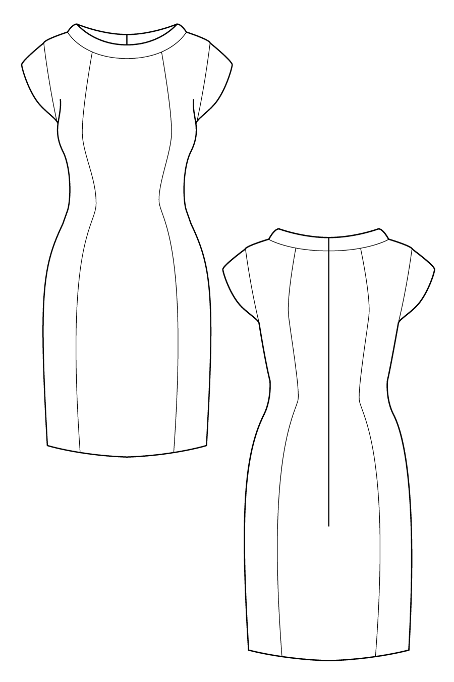 how to draw a sleeve pattern