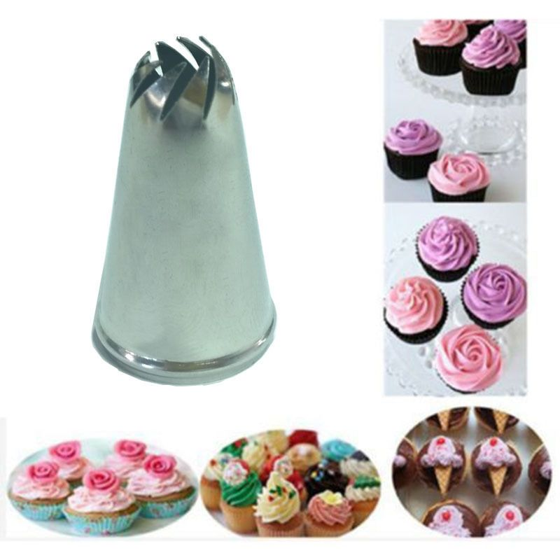 Stainless Steel Drop Flower Tips Cake Nozzle Cupcake Sugar Crafting Icing Piping Nozzles Pastry Tool Hf312 In Cake Decorating Piping Cake Nozzles Piping Icing