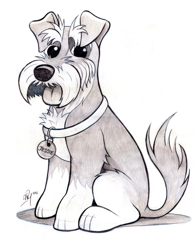Дню, рисованные карандашом картинки собачек прикольные