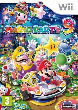 Mucha Diversion Y Fiesta Con La Familia Y Amigos Jugando Mario Party