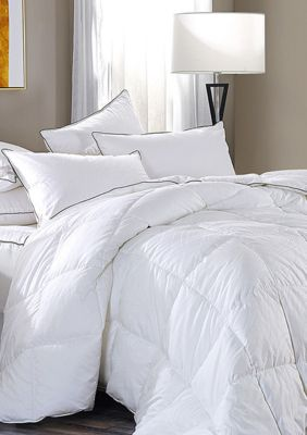 B Smith Junoesque Down Alternative Comforter White Queen In