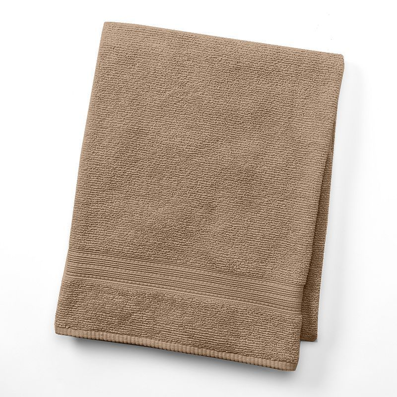 "SONOMA Goods for Lifeâ""¢ Quick-Dry Textured Bath Towel, Yellow ..."